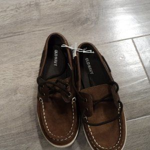 Brown Children's Old Navy shoes size 1
